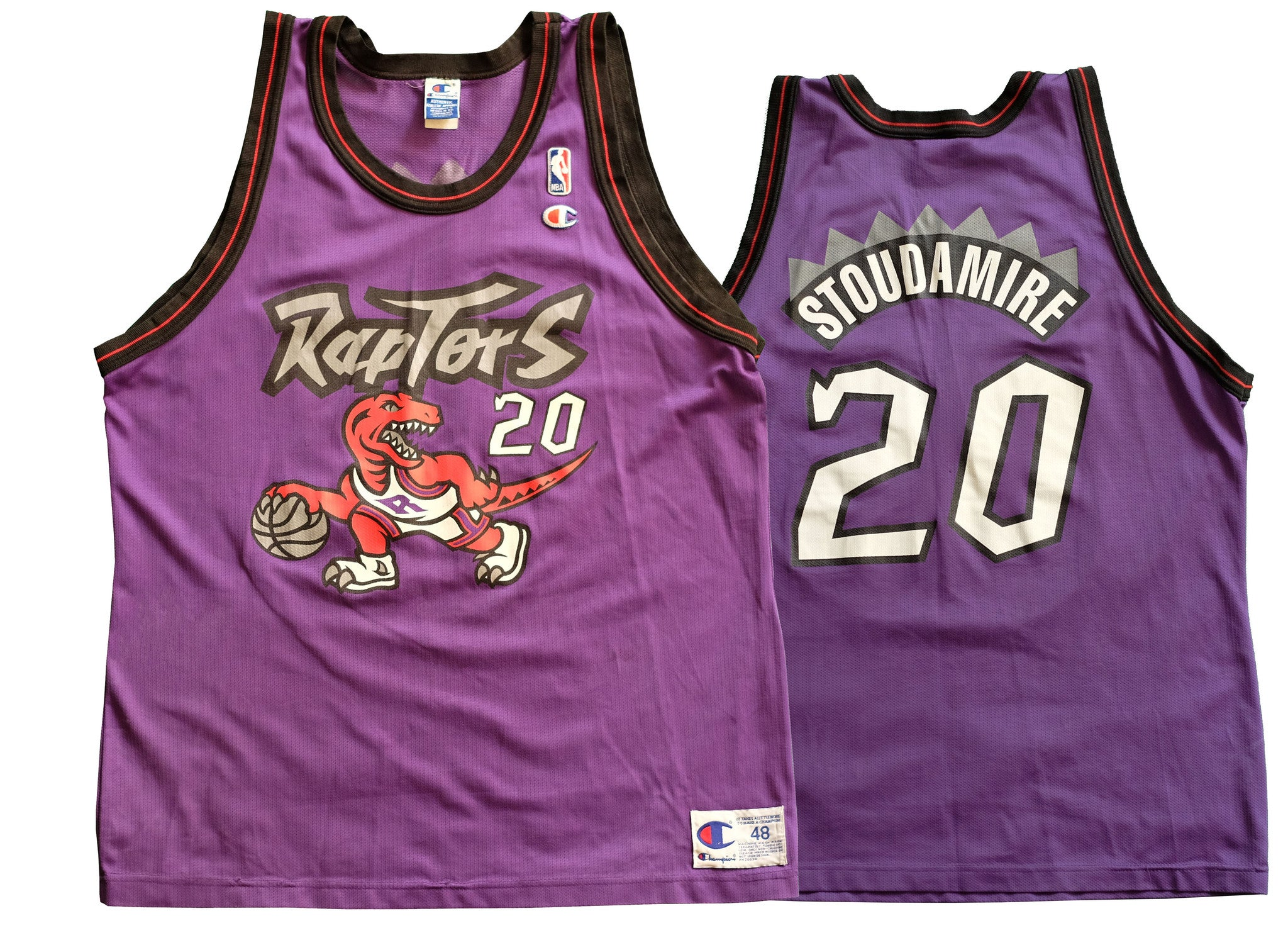 a0211ad4bb9 Toronto Raptors Champion Damon Stoudemire Jersey. Product image 1 ...