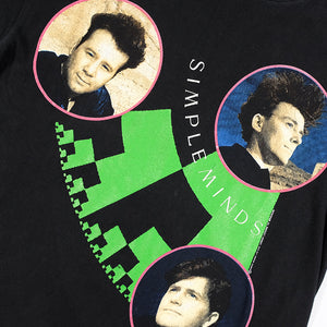 Vintage 1989 Simple Minds Tour T-Shirt - M