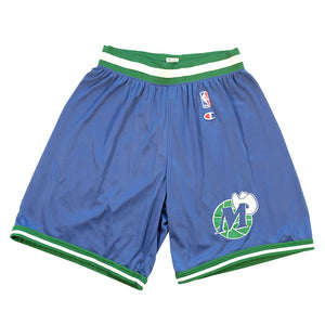 Vintage Champion Dallas Mavericks NBA Shorts - L