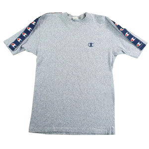 Vintage Champion Tape Logo T-Shirt - M