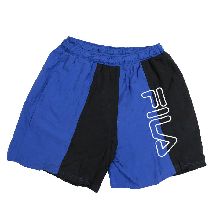Vintage Fila Spell Out Shorts - L