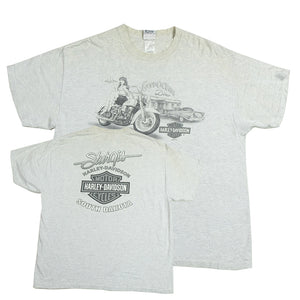 Vintage Harley Davidson South Dakota Graphic T-Shirt - XL