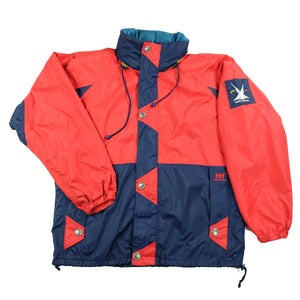 Vintage RARE Helly Hansen Sleeve Patch Jacket - L