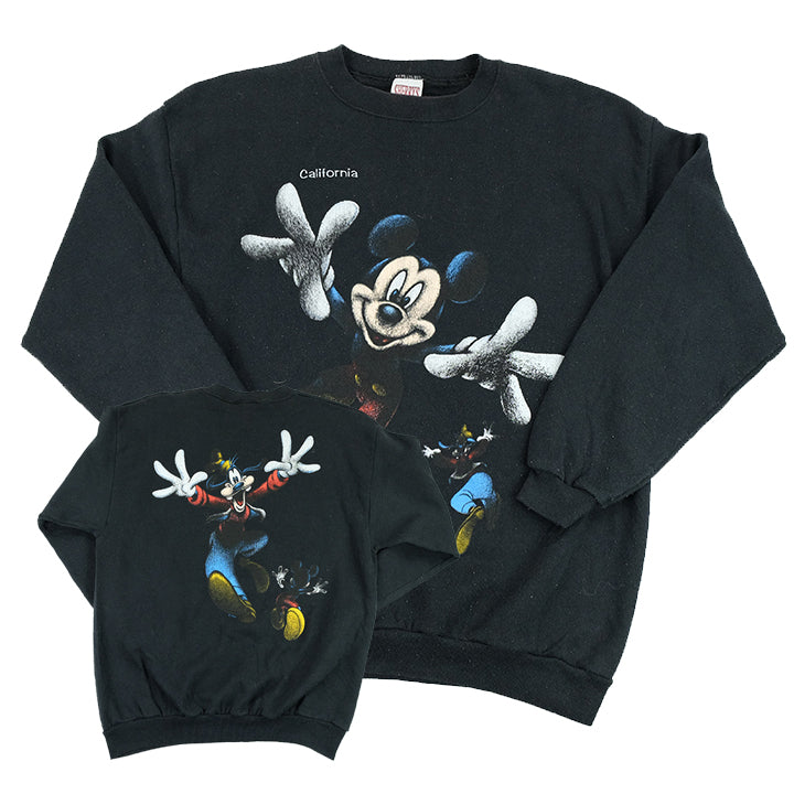 Vintage 90s Mickey Mouse Graphic Crewneck - M