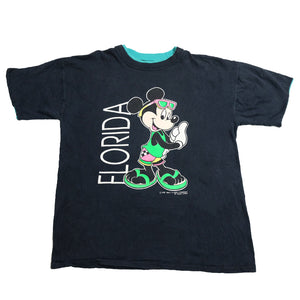 Vintage Mickey Mouse Florida T-Shirt - L
