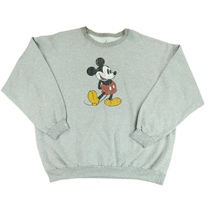 Vintage Mickey Mouse Graphic Crewneck - XXL