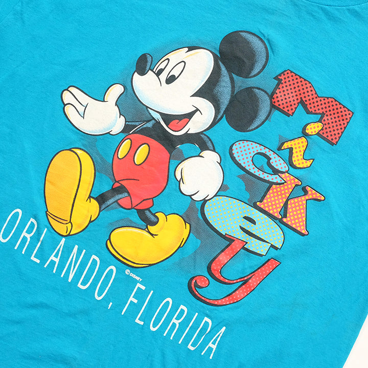 Vintage Mickey Mouse Florida Graphic T-Shirt - L