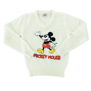 Vintage Mickey Mouse WOMENS Sweater - S