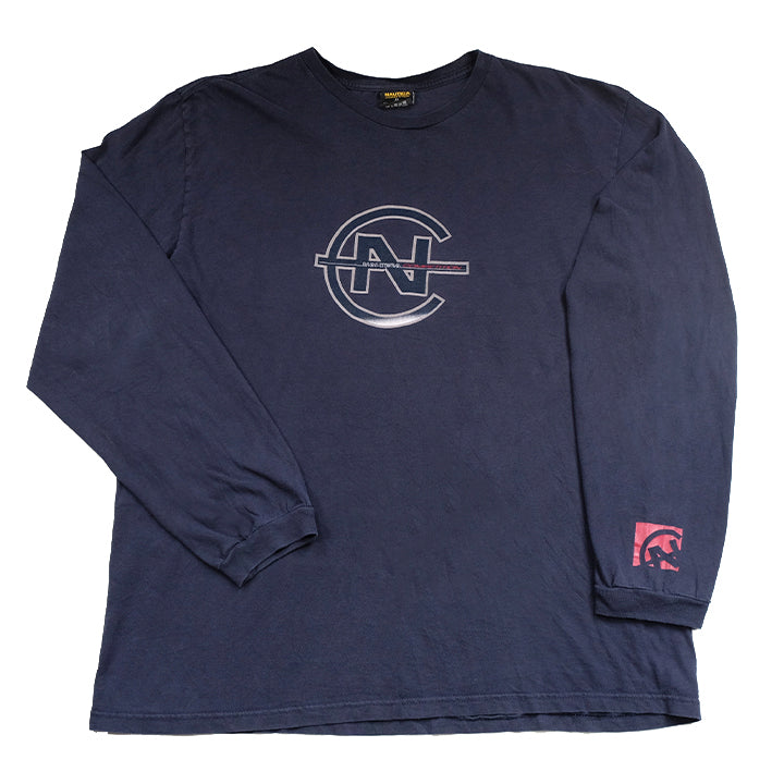 Vintage Nautica Competition Classic Logo Long Sleeve - XL