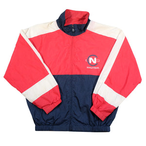 Vintage Nautica Competition Logo Spray Jacket - M
