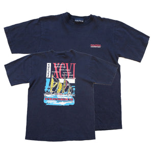Vintage Nautica Competition Graphic T-Shirt - XS/S