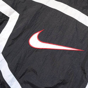 Vintage Nike BIG Embroidered Swoosh Spray Jacket - L