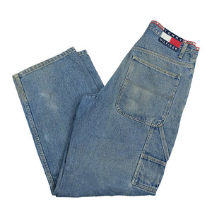 90s OG Tommy Hilfiger Carpenter Denim Jeans - 29