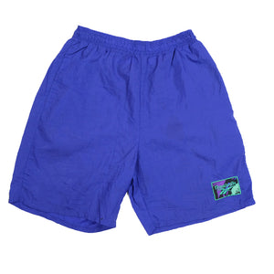 Vintage Reebok Embroidered Logo Shorts - M/L
