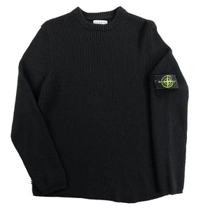 Stone Island AW 2004 Ribbed Wool Sweater Made In Italy - M