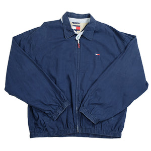 90s Tommy Hilfiger Flag Harrington Jacket - XL