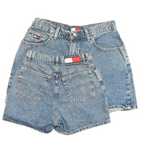Vintage Tommy Hilfiger WOMENS Classic OG Denim Shorts - 8