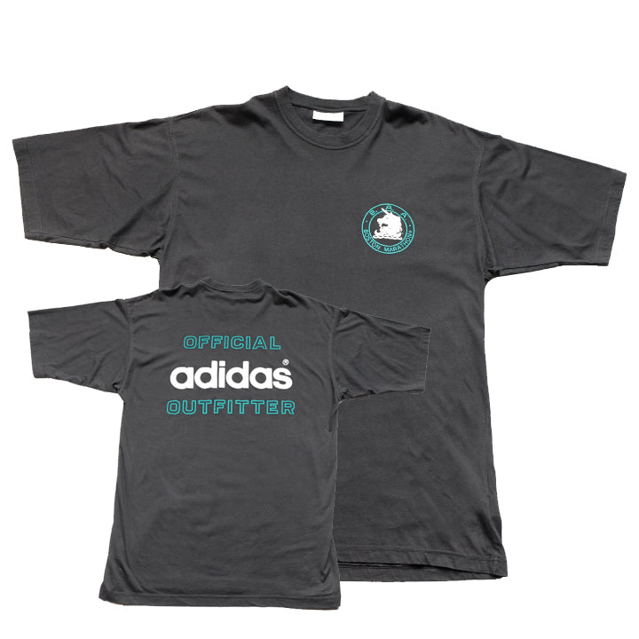 Vintage Adidas Boston Marathon Spell Out T-Shirt - L