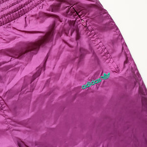 Vintage Adidas Embroidered Logo Spray Tracksuit - XL