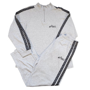 Vintage Asics Classic Tape Matching Tracksuit - S