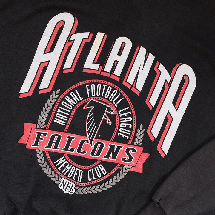 Vintage Atlanta Falcons Big Graphic Made In USA Crewneck - XL