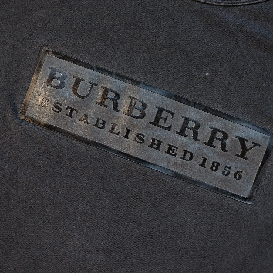 Vintage Burberry Spell Out T-Shirt - M