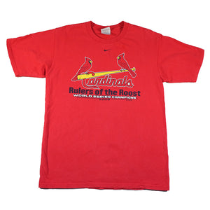Vintage Nike Team St. Louis Cardinals Spell Out T-Shirt - S