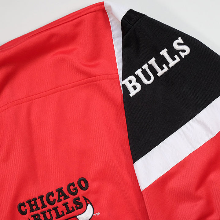 Vintage RARE Champion Chicago Bulls Warm Up Jacket - L