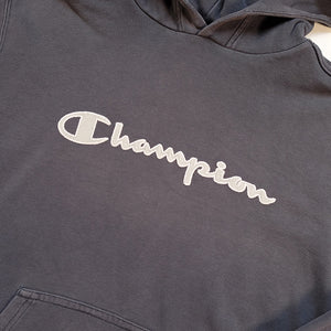 Vintage Champion Embroidered Spell Out Sweatshirt - M/L