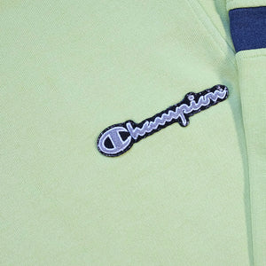 Vintage Champion Embroidered Logo Quarter Zip Sweatshirt - M