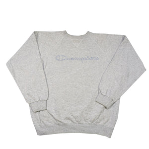 Vintage Champion Spell Out Crewneck - L