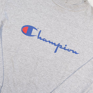 Vintage Champion Spell Out Pullover - M