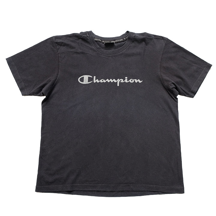 Vintage Champion Spell Out T-Shirt - M