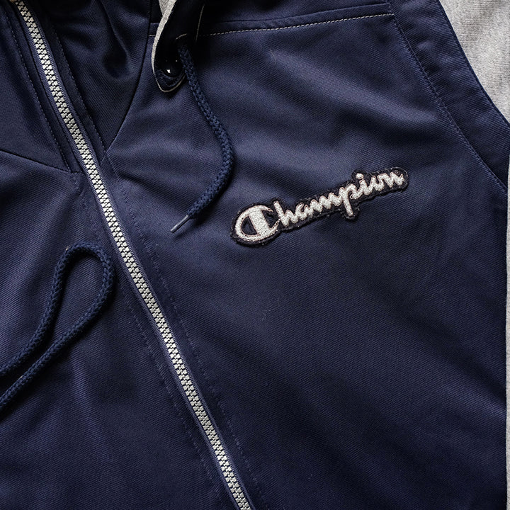 Vintage Champion Big Spell Out Track Jacket - M/L