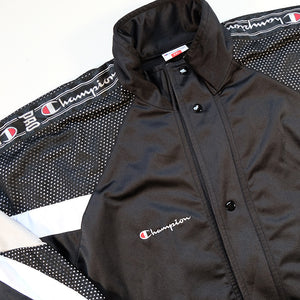 Vintage Champion Tape Spell Out Track Jacket - XXL