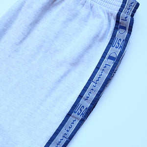 Vintage Champion Tape Spell Out Track Pants - L