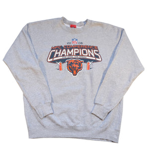 Vintage Chicago Bears Spell Out Graphic Crewneck - L