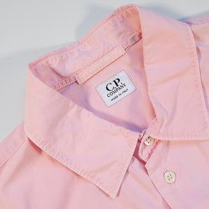 Vintage CP Company Short Sleeve Button Up Made In Italy - M