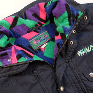Vintage Fila Magic Line Fleece Lined Jacket - M