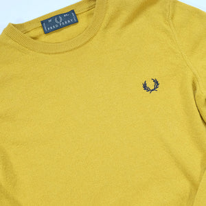 Vintage Fred Perry Logo Sweater - S