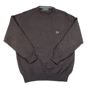 Vintage Fred Perry Embroidered Logo Sweater - L