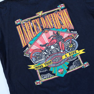 Vintage Harley Davidson Graphic Single Stitch Made In USA T-Shirt - M