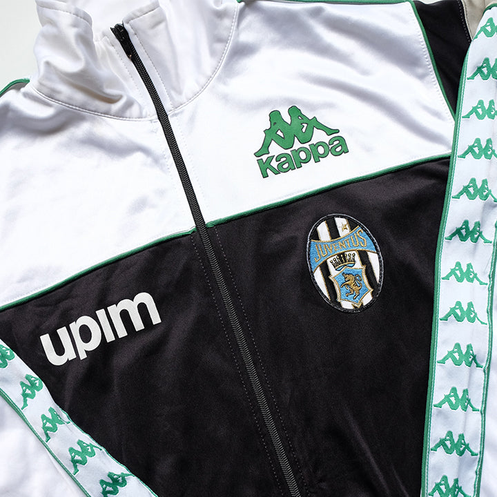 Vintage RARE 80s Kappa Juventus Track Jacket Made In Italy - M