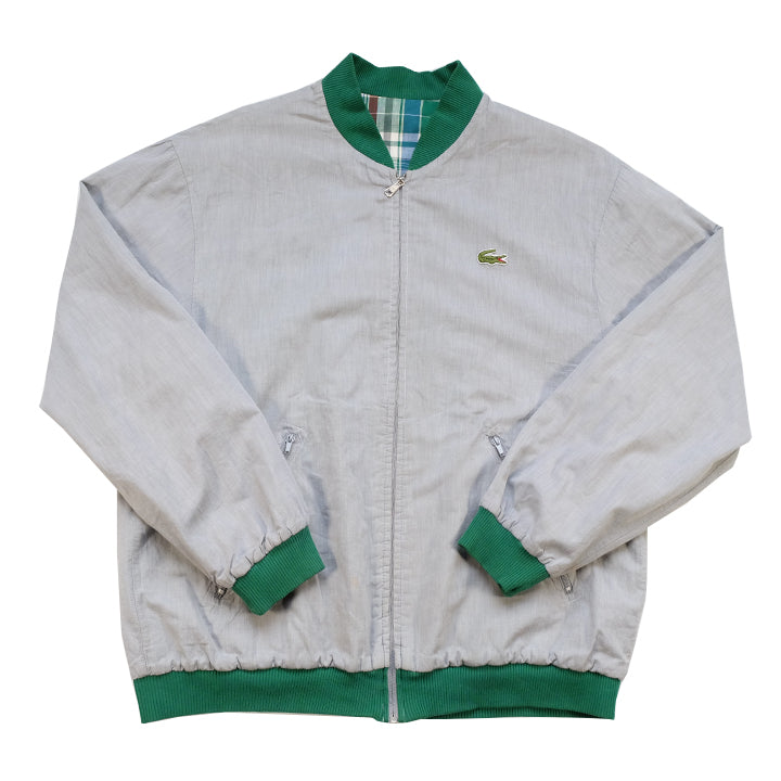 Vintage Lacoste Reversible Made In France Jacket - M