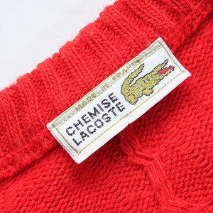 Vintage Lacoste Classic Logo Sweater Made In France - M