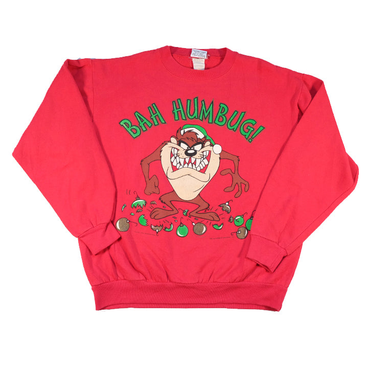 Vintage Looney Taz Graphic Crewneck - S/M
