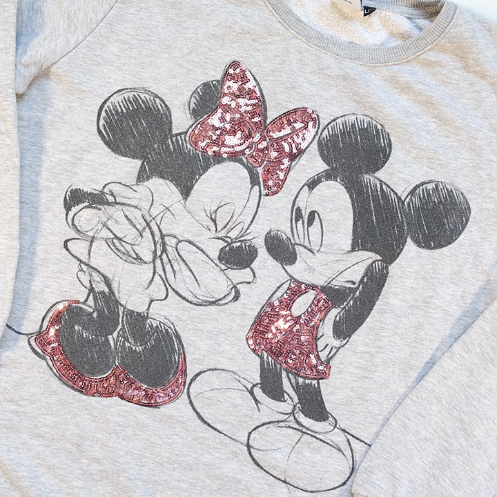 Vintage Mickey Mouse Graphic Crewneck - L