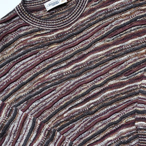 Vintage Missoni Sport Classic Knit Sweater Made In Italy - L