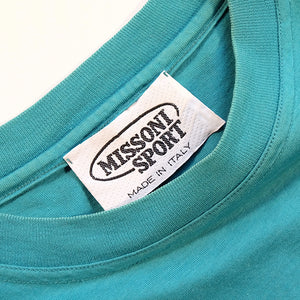 Vintage Missoni Sport Spell Out T-Shirt Made In Italy - M