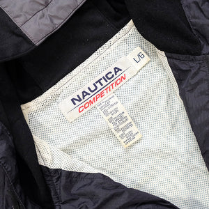 Vintage Nautica Competition Embroidered Logo Windbreaker Jacket - L